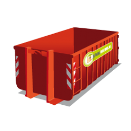 Container 20m3 groen
