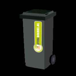 Container 240 liter bedrijfsafval