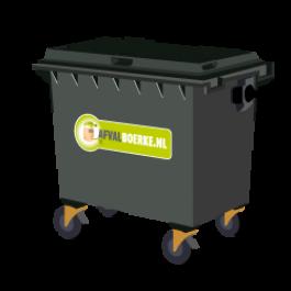 Container 660 liter bedrijfsafval