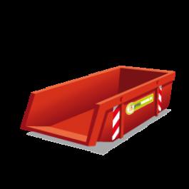 Container 6m3 restafval