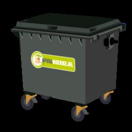 Container 770 liter bedrijfsafval