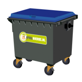 Container 770 liter papier