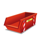 Container 10m3 restafval