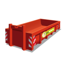 Container 11m3 restafval