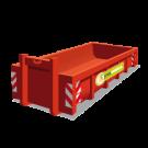 Een puincontainer met een inhoud van 11m3