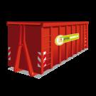 Container 40m3 bouw en sloop