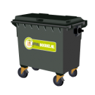 Container 500 liter bedrijfsafval