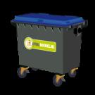Container 500 liter papier