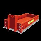 Een puincontainer met een inhoud van 7m3